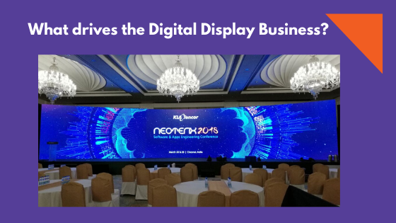What drives the Digital Display Business?