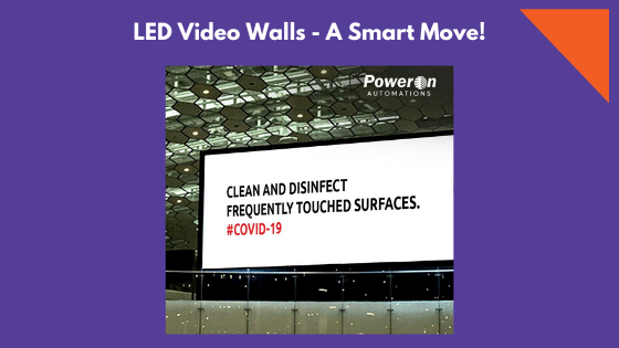 LED Video Walls – A Smart Move